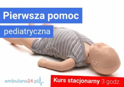 KURS PIERWSZA POMOC PEDIATRYCZNA