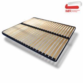 Solidny, metalowy STELAŻ DO ŁÓŻKA 160 x 200 cm x 32 listw