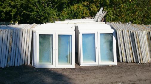 Okna PCV nowe i używane