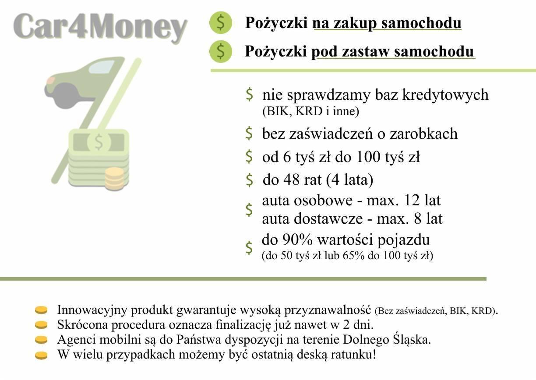 952ff2f1e500 Pożyczki pod zastaw pojazdu do 90% jego wartości bez sprawdzania baz ...
