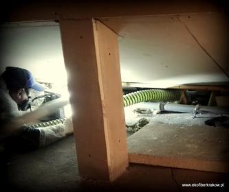 Docieplenia poddaszy w nowo powstających budynkach