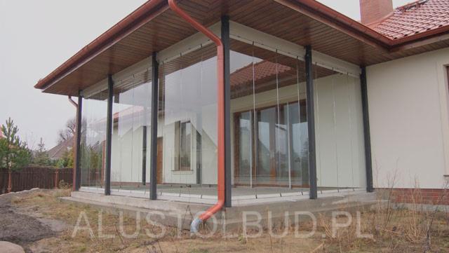 Modish Zabudowa balkonu, zabudowa tarasu, zadaszenia, dachy szklane SN36