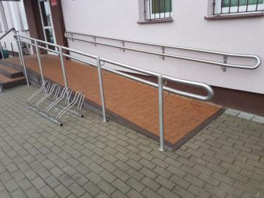 balustrada na podjeździe dla niepełnosprawnych, Olsztyn, oferta