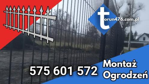montaż ogrodzeń, Toruń, oferta