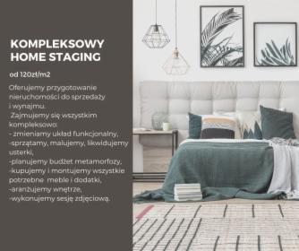 Kompleksowy home staging, oferta