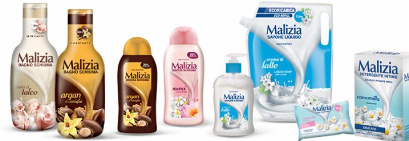 Kosmetyki do ciała Malizia
