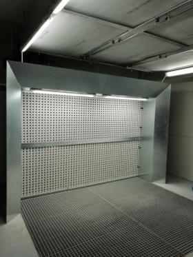 Ściana lakiernicza