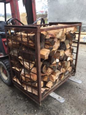Drewno opałowe kominkowe mieszane dąb buk brzoza wiśnia jodła, oferta