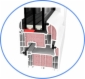 Energooszczędne okna PCV Ug=0,5W/m2K, oferta