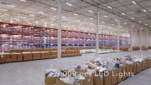 Modernizacja oświetlenia hal produkcyjnych i magazynowych