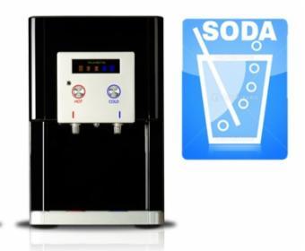 Dystrybutor wody gazowanej z filtrem - Ruhens WHP-340s