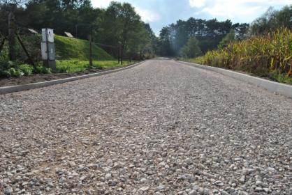 Budowa dróg asfaltowych, łatanie dziur, utwardzenie terenu kruszcem