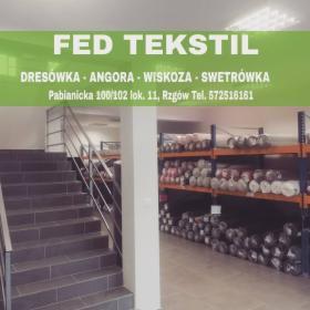 Dzianina, Dresówka, Wiskoza, Angora, Tkaniny, Singiel