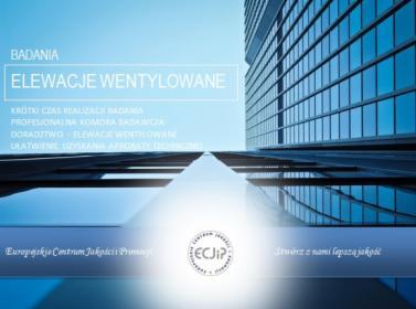 Badanie Elewacji Wentylowanych, Warszawa, oferta