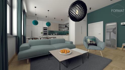 Projektowanie wnętrz mieszkalnych oraz lokali usługowych