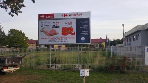 Produkcja i montaż billboardów, tablic reklamowych, Paniówki, oferta