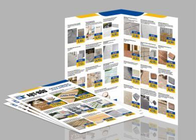 Projekt graficzny katalogu produktowego