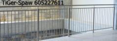 Balustrada ze stali nierdzewnej, Rzeszów, 2