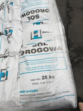 Sól drogowa konfekcjonowana, Polkowice, oferta