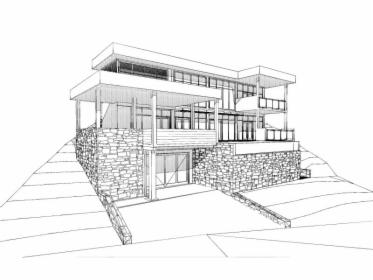 Projekt indywidualny budowlano-wykonawczy domu