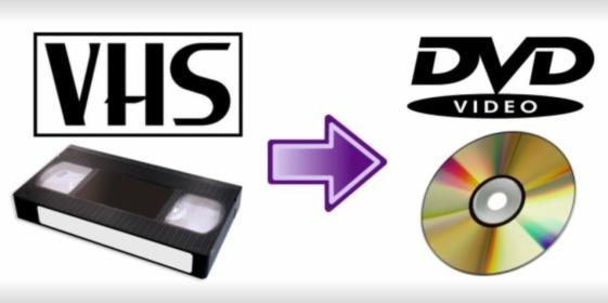 Przegrywanie, kopiowanie kaset VHS VHS-C Video8 na DVD/pendrive CD do MP3, oferta
