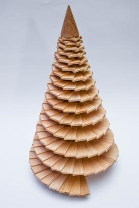 Choinka drewniana - dekoracja, układanka i przyrząd do rehabilitacji w jednym, oferta