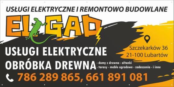 Usługi elektryczne, Lubartów, oferta