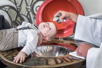 Reportaż z uroczystości przyjęcia chrztu Św.