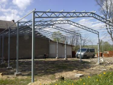 Konstrukcja stalowa 150m2, Janowiec, oferta