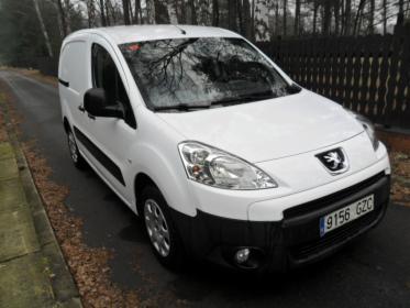W Mega Peugeot Partner 3 osobowy 1,6 hdi 75 KM , 11.2010, Katowice HS86