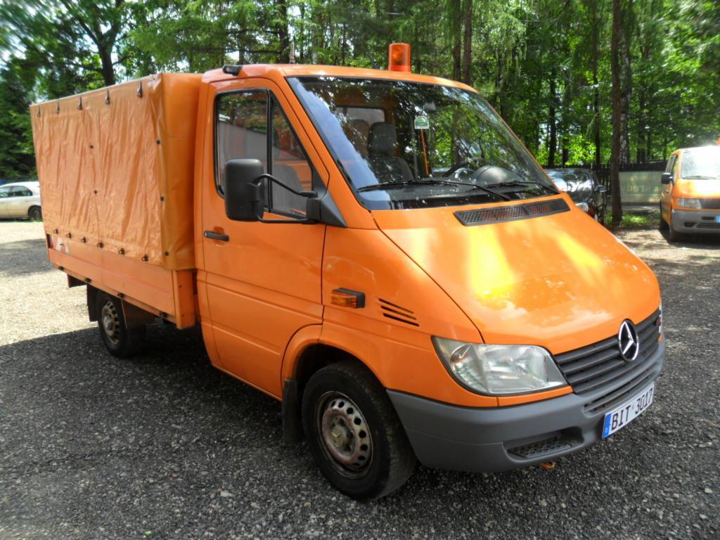 Rewelacyjny Mercedes Sprinter 208 cdi ,skrzynia z plandeką, Katowice - Oferta WZ09