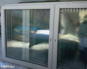 Okna Pcv2050x1100 z Demontażu z Niemiec