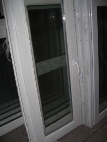 Okna Pcv650x1530 z Demontażu z Niemiec