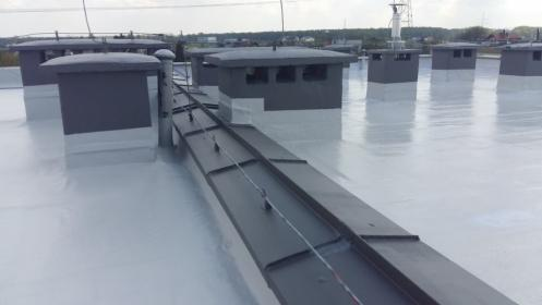 Izolacja dachu płaskiego HYDRONYLON