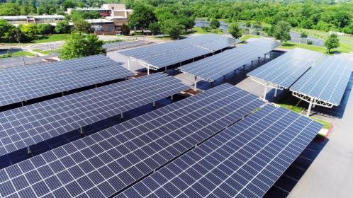 Parking fotowoltaiczny - wiata solarna - 5,04 kW
