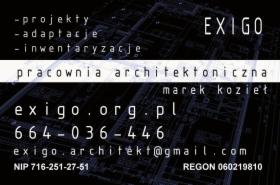 Pracownia architektoniczna, architekt, oferta