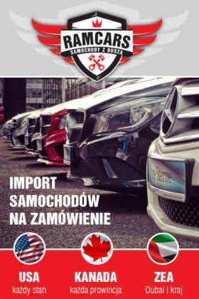Import samochodów z USA, Gliwice, oferta