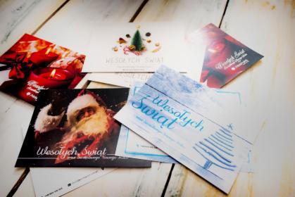 Karty Świąteczne z Twoim logo i danymi, oferta