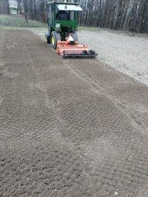 Usługi glebogryzarką separacyjną, zakładanie trawnika