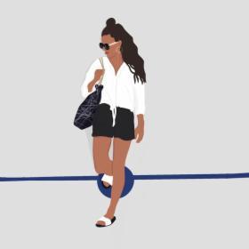 Spersonalizowana ilustracja ze zdjęcia - minimalistyczna