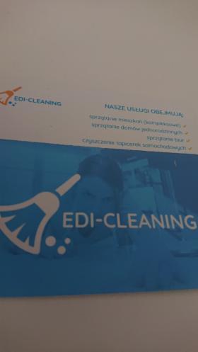 Firma sprzątajaca edi cleaning oferuje sprzątanie biur. Zapraszam