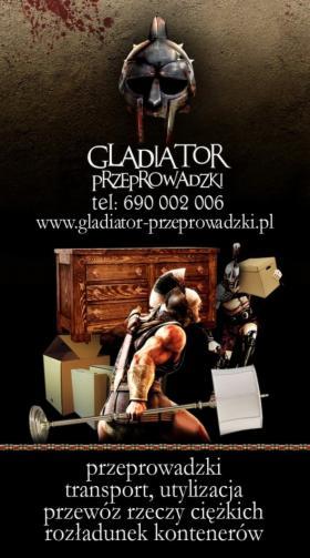 Przeprowadzki Kraków gladiator, Kraków, oferta