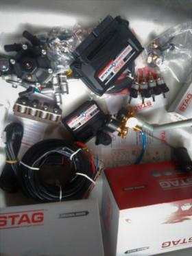 Montaż instalacji LPG AC Stag 4 QBox Plus do silników 4 cylindrowych, oferta