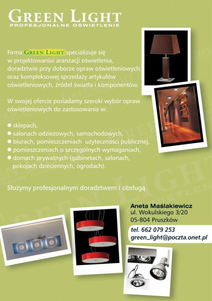 Projektowanie Aranżacja Sprzedaż Opraw Oświetleniowych