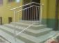 Wyroby ze stali nierdzewnej, balustrady, poręcze, drewno, 2