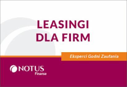 Leasingi dla FIRM