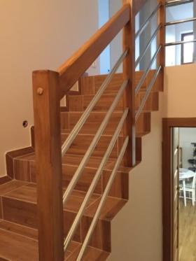 Kompletna Balustrada Drewniano - Metalowa do samodzielnego montażu, oferta