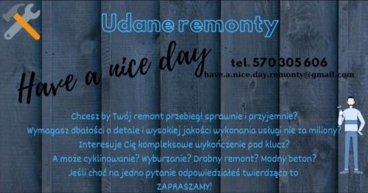 REMONTY OD A DO Z, Warszawa, oferta