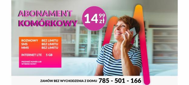 Abonament Komórkowy, Płock, oferta