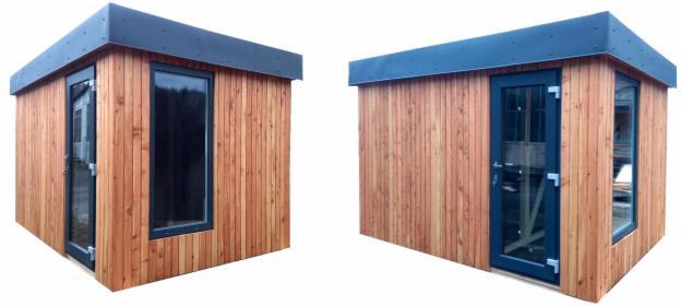 Budynek modułowy Gulveig sauna,poczekalnia, kasa
